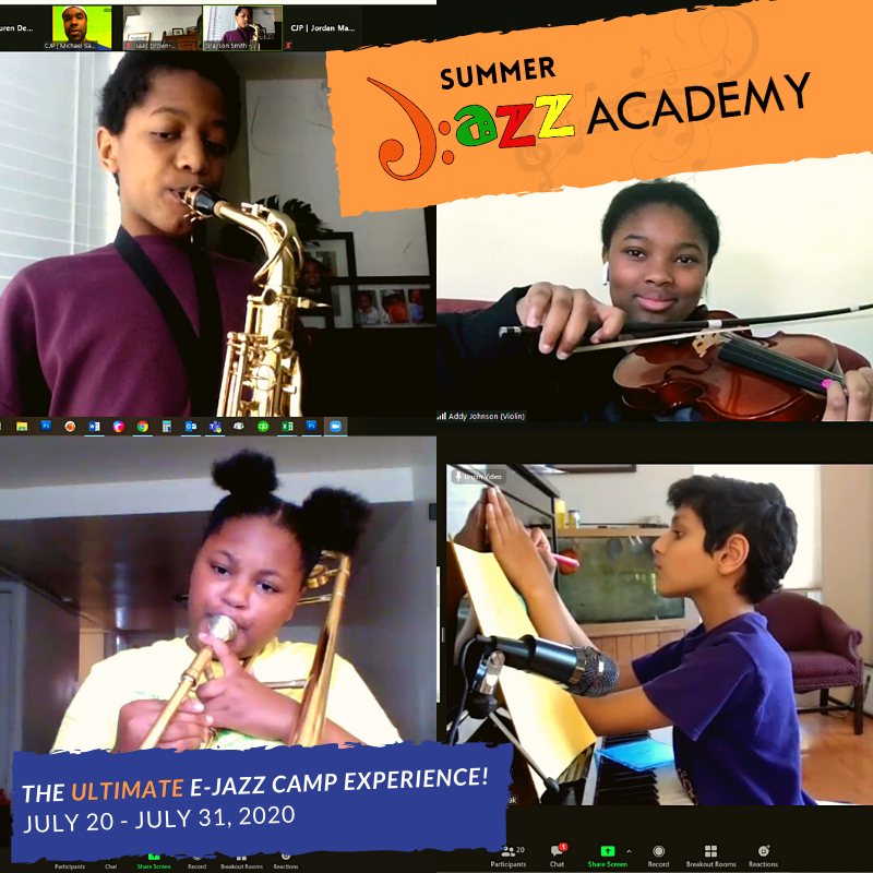 Virtual Jazz Academy - Summer